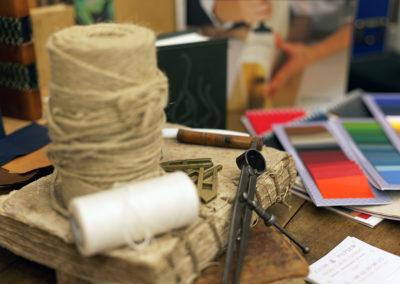 Carole Arnaud, Reliure et création cuir