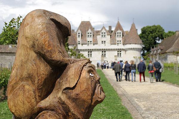 Christian Cadot, Sculpteur sur bois