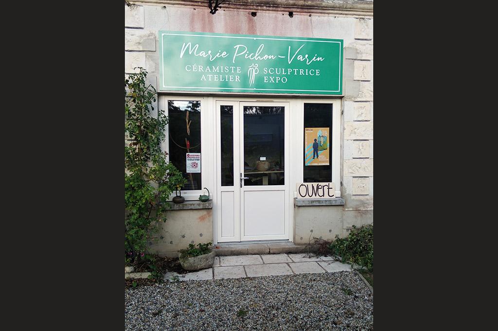 Marie P_Varin_vue atelier devanture