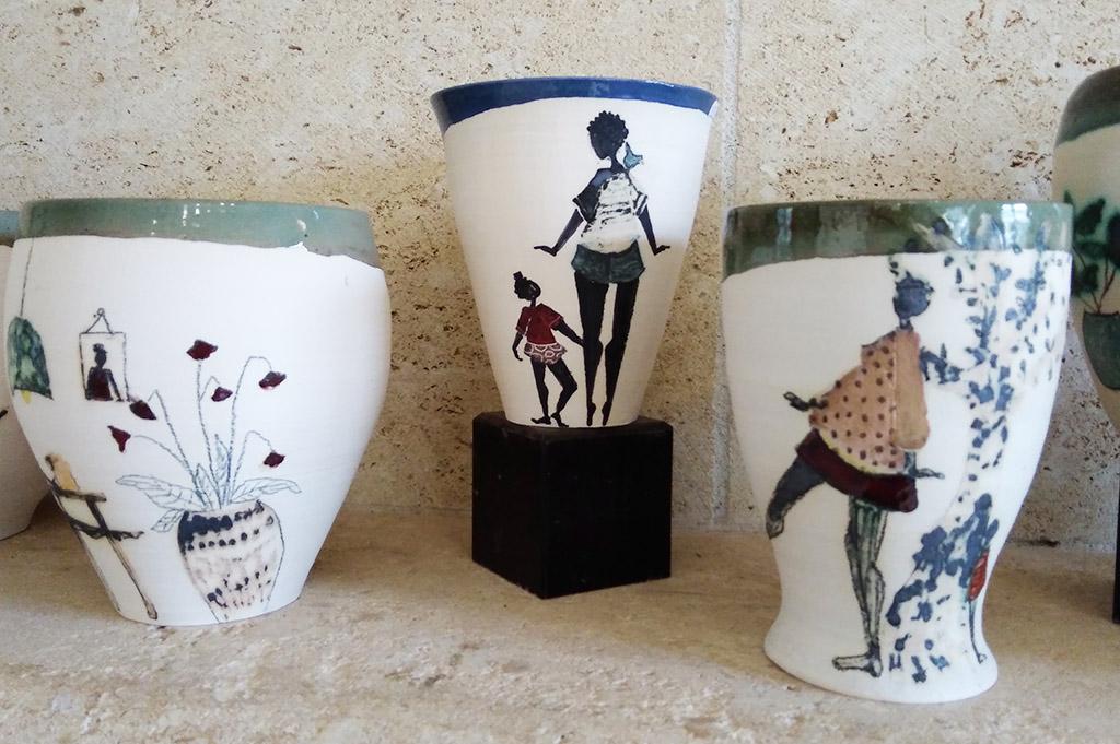 Marie P_Varin_création vase
