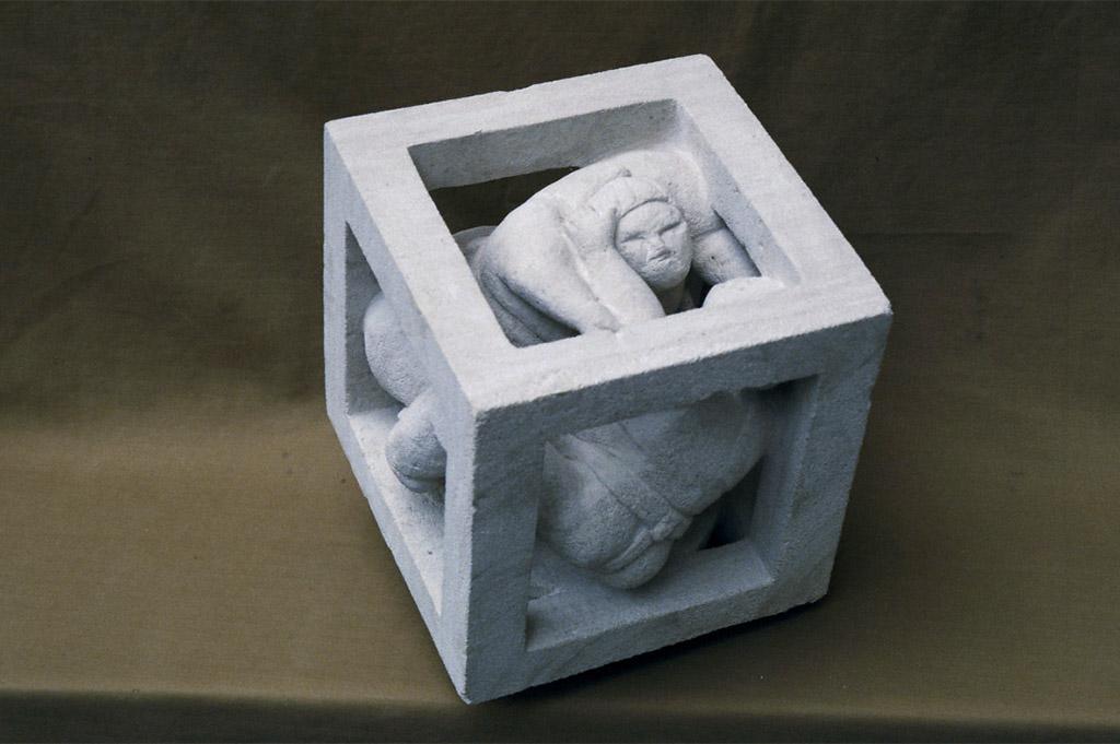 sculpture-pierre-cube-derzou